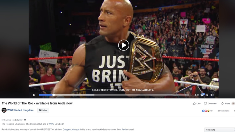 WWE Accidentally Tag The Wrong Dwayne Johnson In Post About 'The Rock'