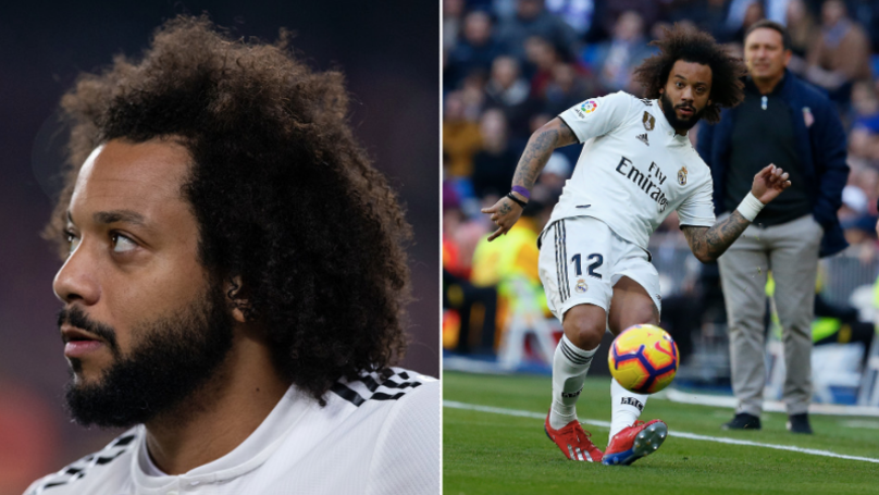 Marcelo Decides To Respond To Real Madrid Fan Page Who Criticised Him