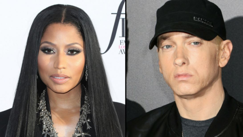 Nicki Minaj Reveals Where She Wants To Have A First Date With Eminem