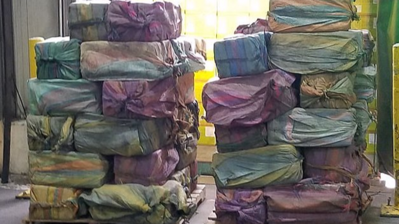 US Authorities Seize 'One Of The Biggest Cocaine Shipments In 25 Years'