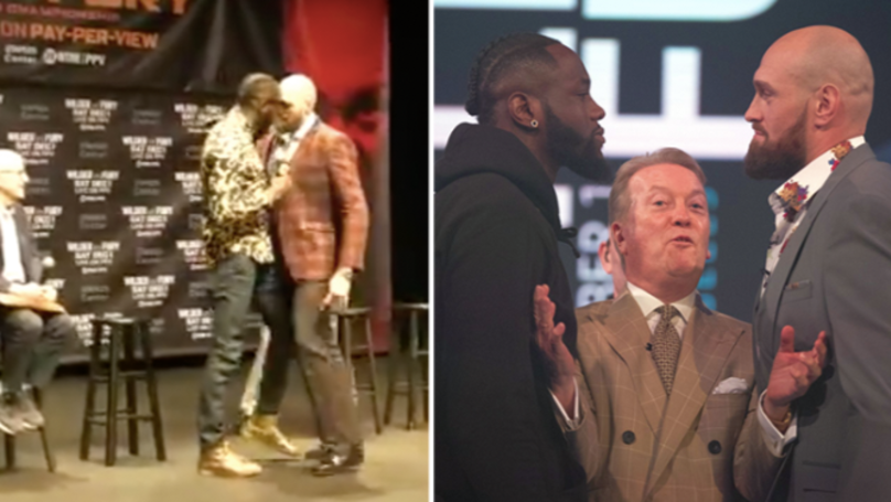 Deontay Wilder Goes For Tyson Fury In Latest Press Conference