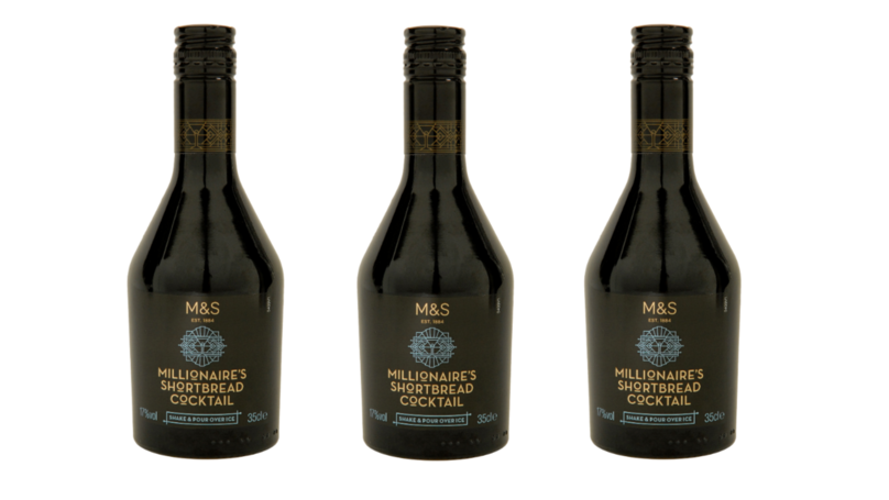M&S Has Released A Scrummy Millionaire's Shortbread Cocktail For Christmas