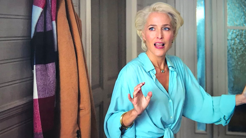 ​Netflix Shares Raw Footage Of Gillian Anderson's Instructional Video From Sex Education
