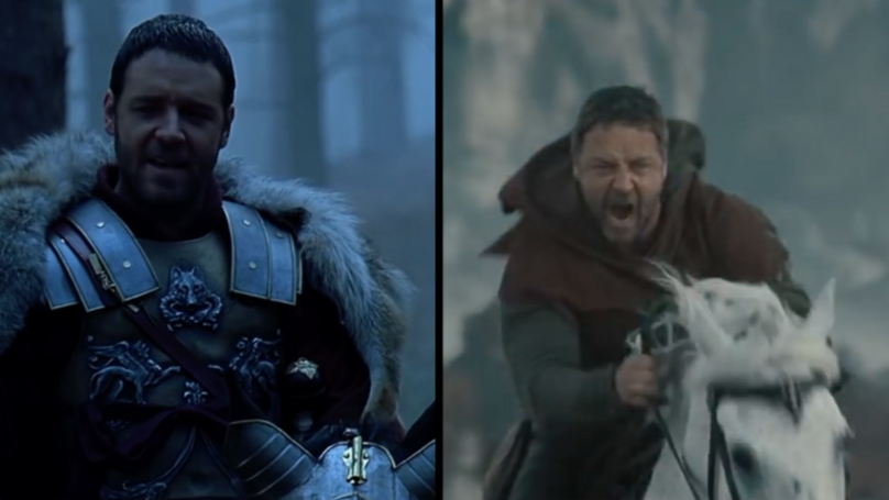 Russell Crowe Says Two Horses He Worked With In Three Movies Still Recognise Him