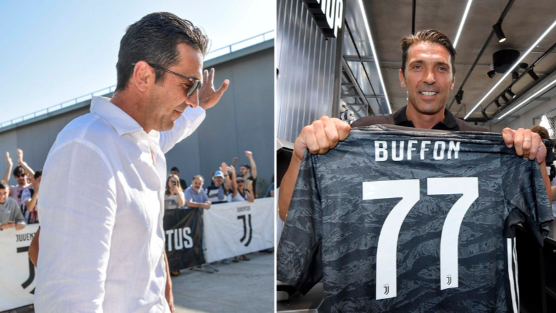 Gianluigi Buffon Refuses No.1 Shirt And Captain's Armband On Emotional Juventus Return