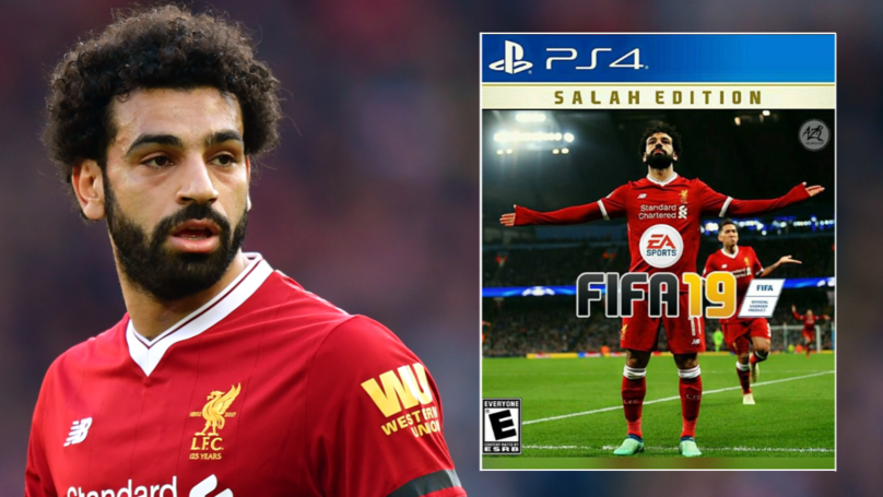 77% Of People Want Mohamed Salah To Be FIFA 19's Cover Star