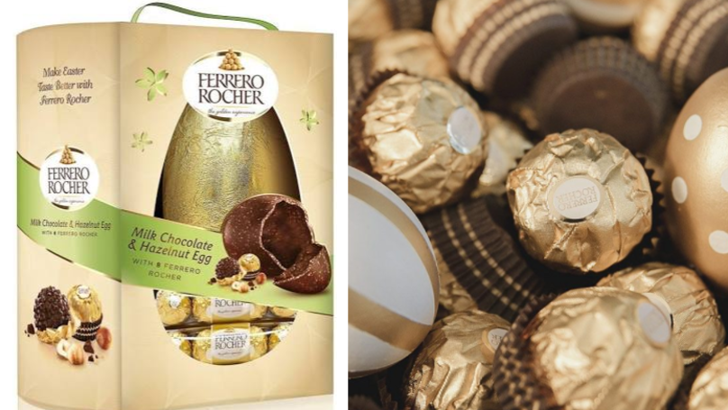 Giant Ferrero Rocher Easter Eggs Exist And They Sound Delicious
