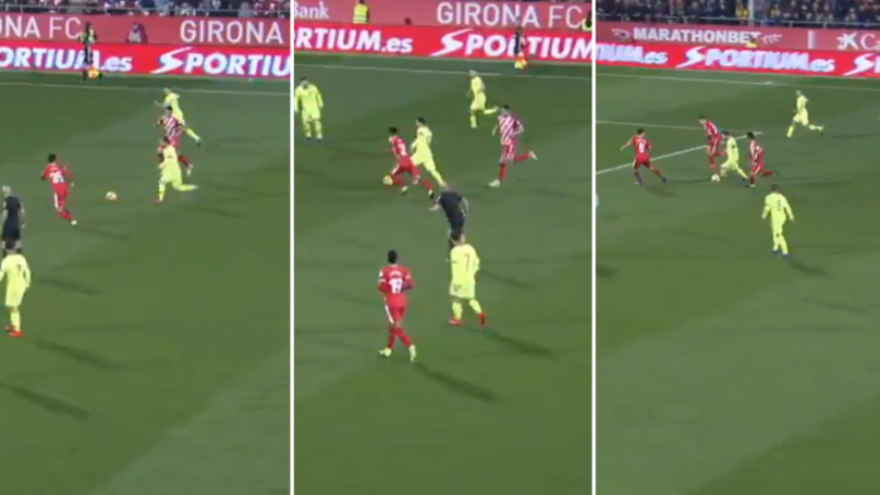 Lionel Messi's Dribbling Against Girona Was Genuinely Indefensible