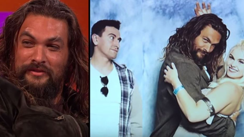 Jason Momoa Is Still Taking Photos With Couples And Pushing Boyfriends Away