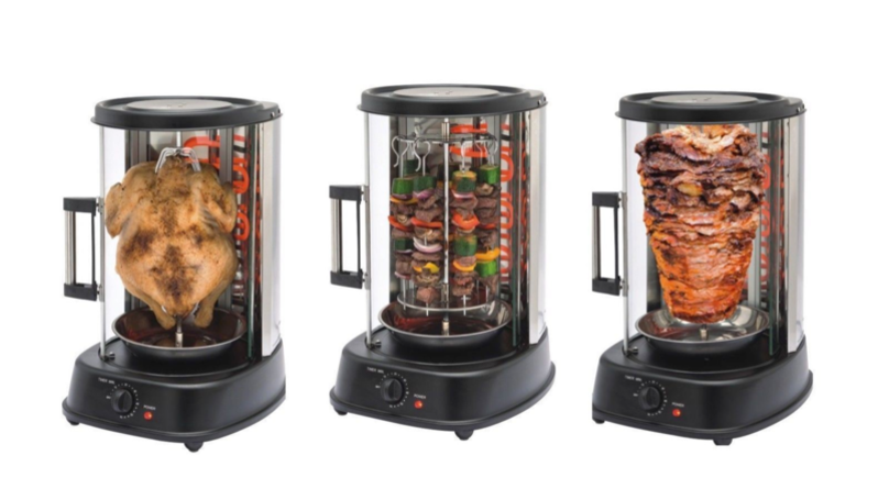 This Home Rotisserie For Kebabs Is Getting Rave Reviews