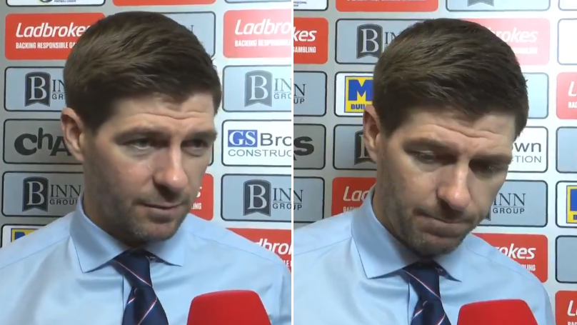 Steven Gerrard Branded 'Arrogant' And 'Disrespectful' For His Post-Match Interview