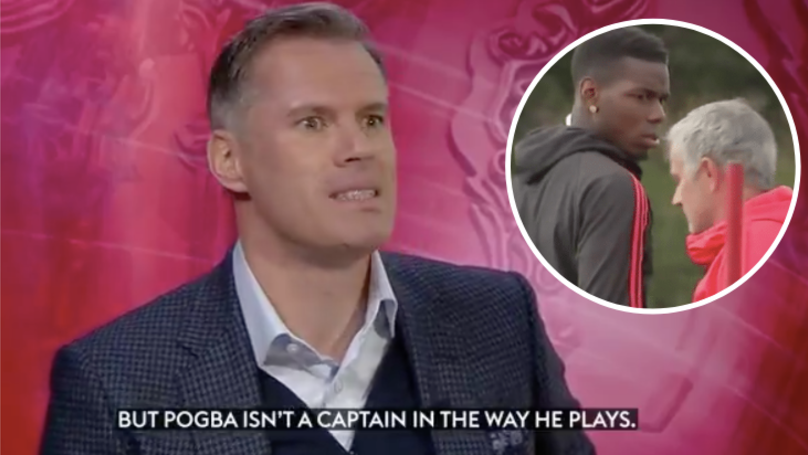Jamie Carragher's Assessment Of Paul Pogba In September Now Looks Spot On