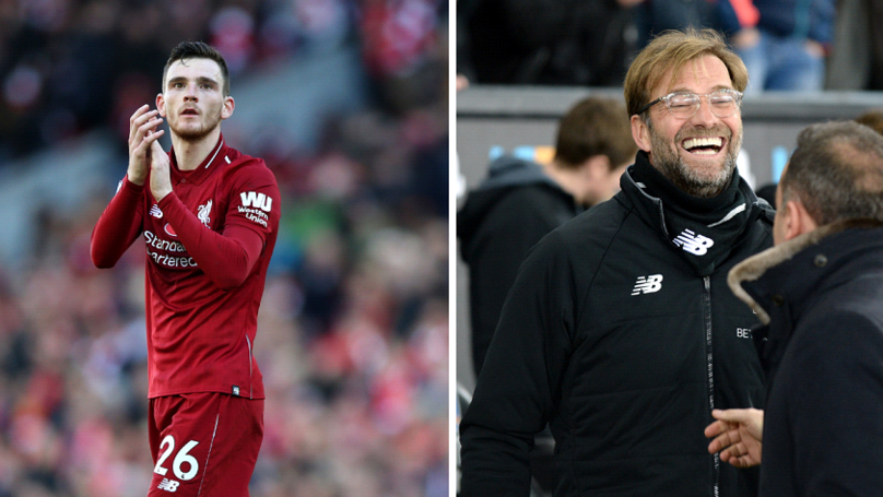 How Jurgen Klopp Reacted When Andy Robertson Told Him He Was New Scotland Captain