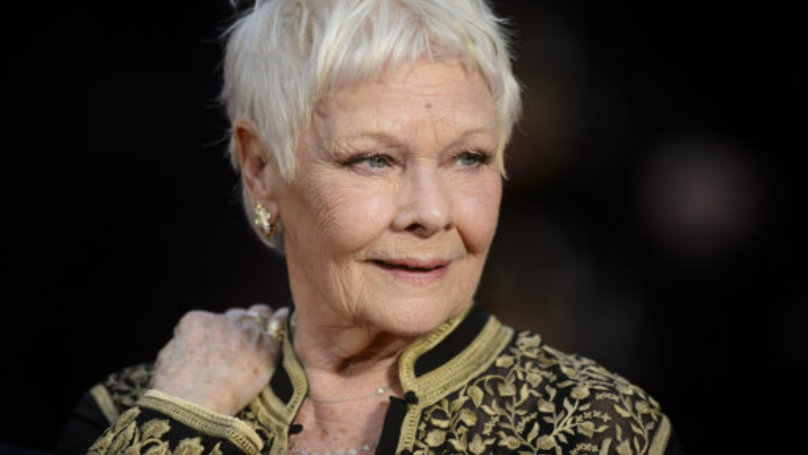 Dame Judi Dench Gets Her First Tattoo Aged 81