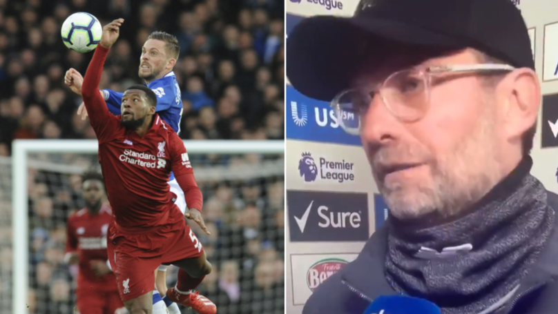 Jurgen Klopp Blames The Wind Yet Again As Liverpool Drop Points In Merseyside Derby