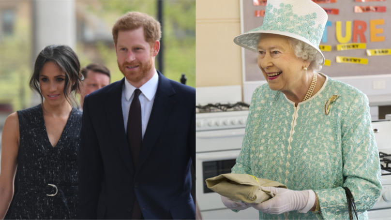 ​The Queen Might Be Giving Harry And Meghan A Very Generous Wedding Gift