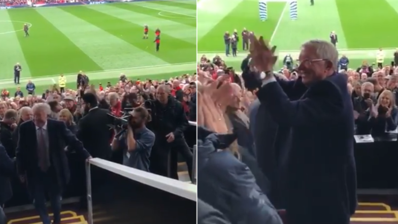 Sir Alex Ferguson's Reaction When He Receives Standing Ovation Is The Best Thing You'll See This Year