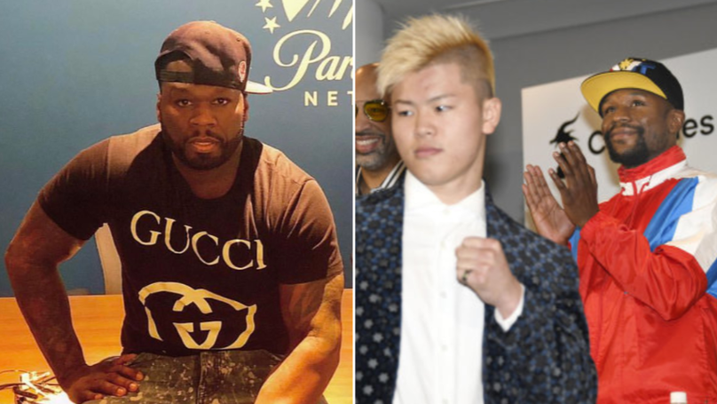 50 Cent Reacts To Floyd Mayweather Canceling His Fight Against Tenshin Nasukawa