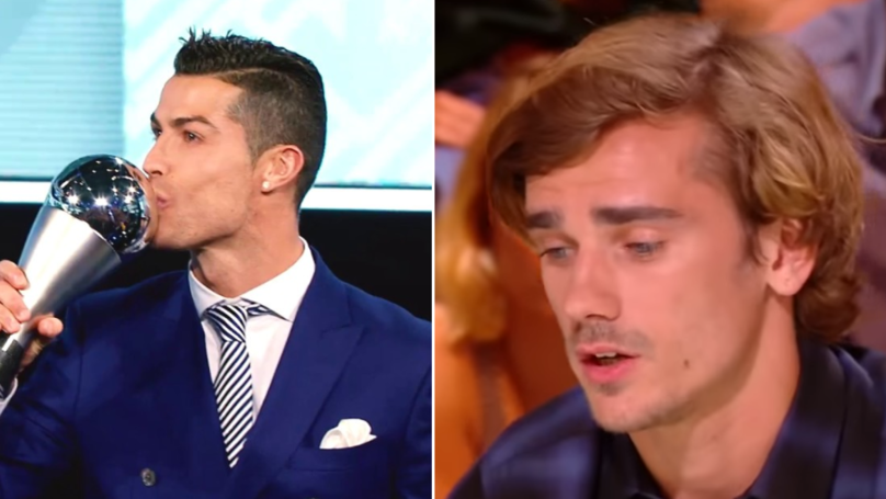 Antoine Griezmann Reacts To 'The Best FIFA' Snub, And It's Pretty Sad