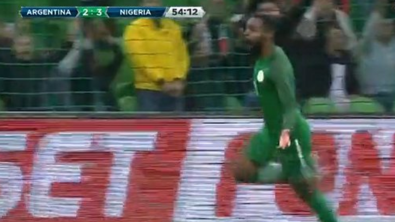 Fans Are Loving Nigeria's 4-2 Win Over Argentina From 2-0 Down