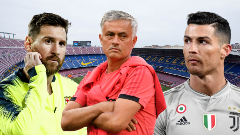 José Mourinho Chooses Between Cristiano Ronaldo And Lionel Messi