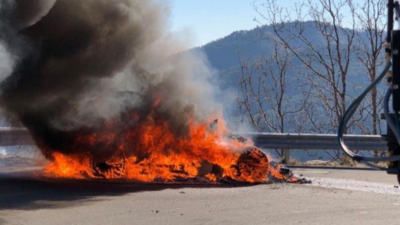 'Top Gear' Presenters Escape Blazing Car Fire At Monte Carlo Rally