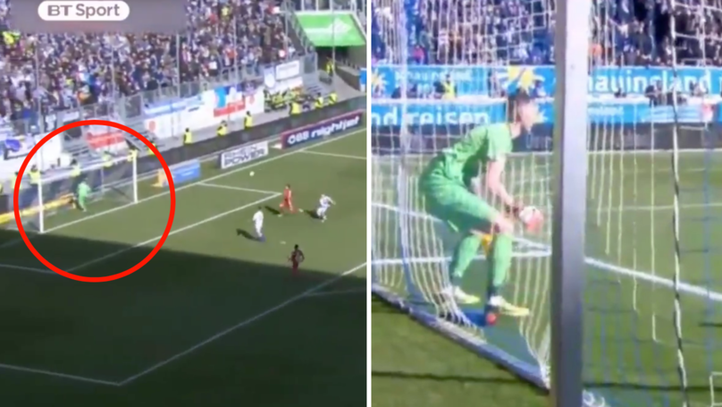 Real Life FIFA Glitch Occurs In German Football Match