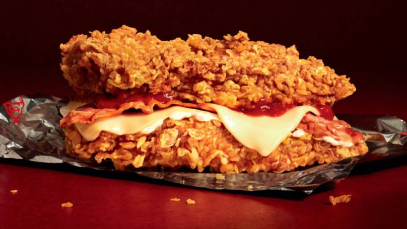 KFC Is Launching The First Ever Zinger Double Down In The UK