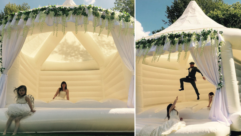 Calling All Brides-To-Be: These Wedding Bouncy Castles Look Incredible
