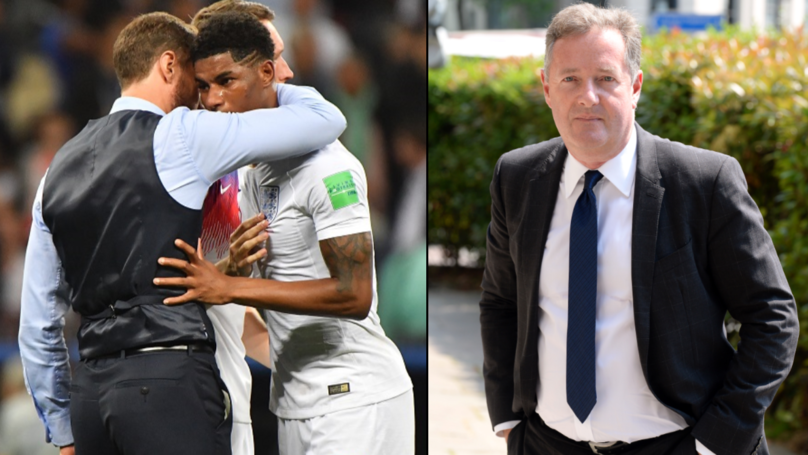 Piers Morgan Blasts Reaction To 'Losing' England Footballers After World Cup Exit