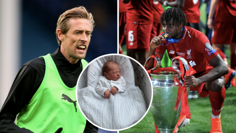 Peter Crouch Announces His Baby Is Called 'Divock' And Everyone Falls For It