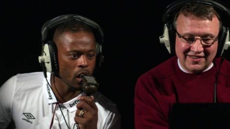 Patrice Evra & West Ham Stars Take On Cheltenham Commentary Challenge