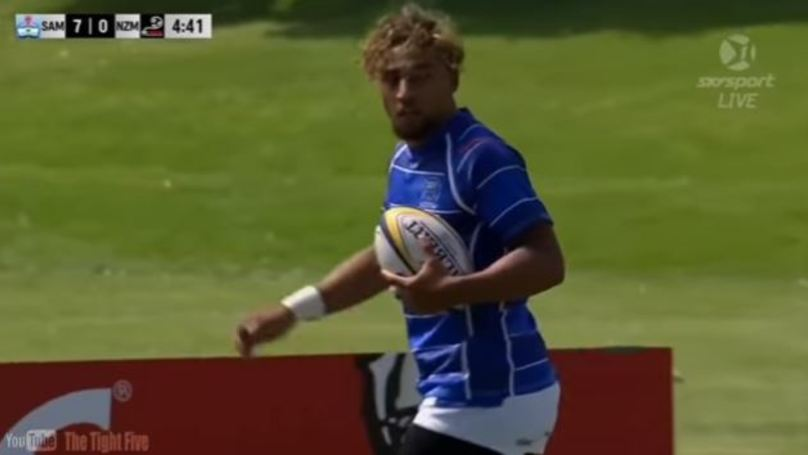 WATCH: 17 Year Old New Zealand Winger Is Ridiculously Quick