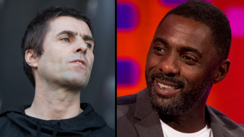 Liam Gallagher And Idris Elba Have Buried The Hatchet After Four-Year Feud