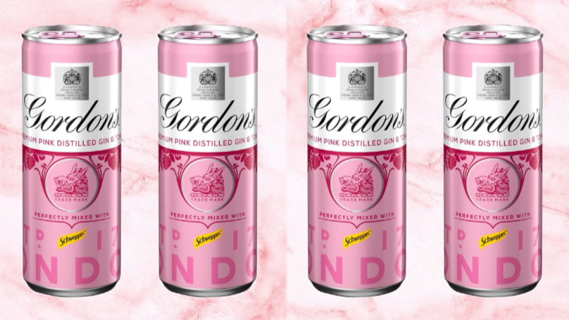 You Can Now Get Gordon's Pink Gin In Pre-Mixed Cans