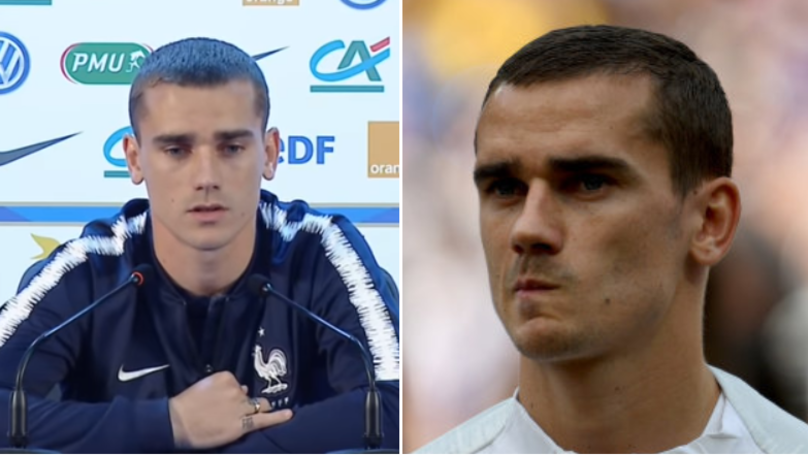 Antoine Griezmann Gives Brutally Honest Interview About France's Goalless Draw Against Denmark