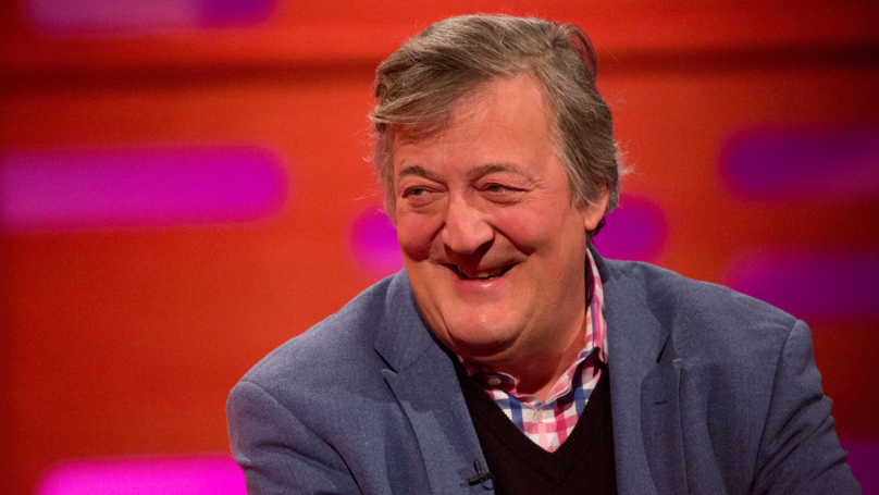 Stephen Fry Opens Up About His Prostate Cancer Diagnosis