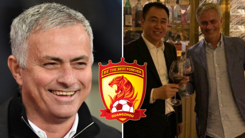 Jose Mourinho Has Held Talks With China's Richest Man Over Dual Management Job