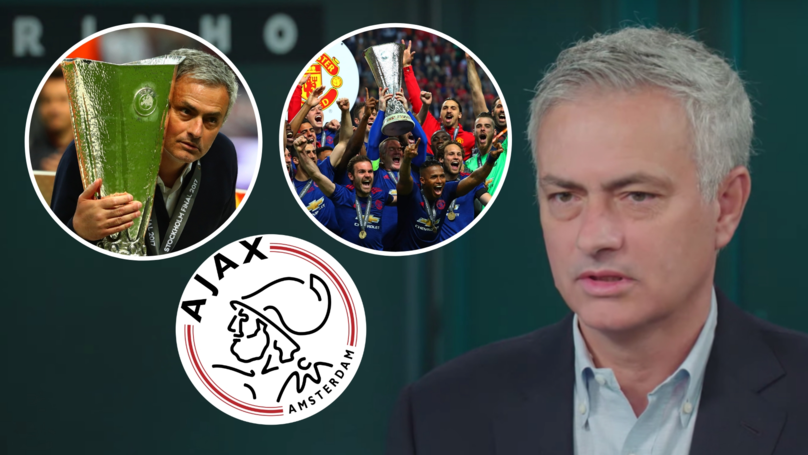 José Mourinho Reveals How He Stopped Ajax In Europa League Final With Manchester United
