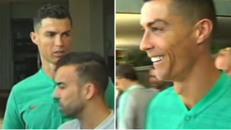 Cristiano Ronaldo Asked 'Don't You Have A Juventus Shirt? After Fan Asks Him To Sign Real Madrid Shirt