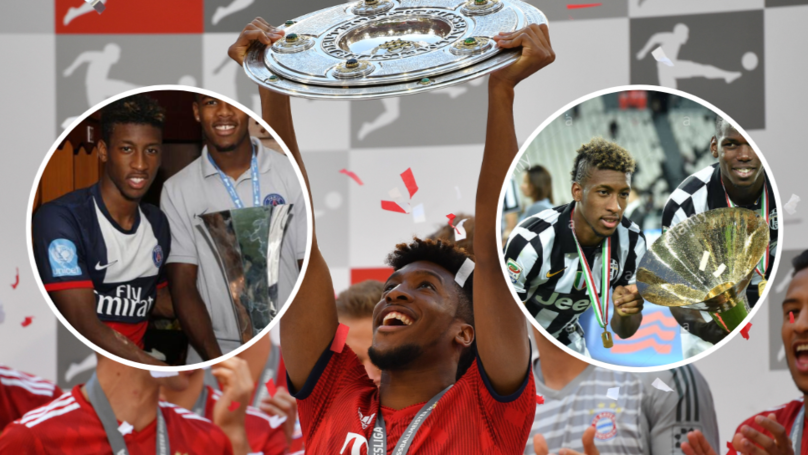 Kingsley Coman Has Now Won Eight League Titles In A Row
