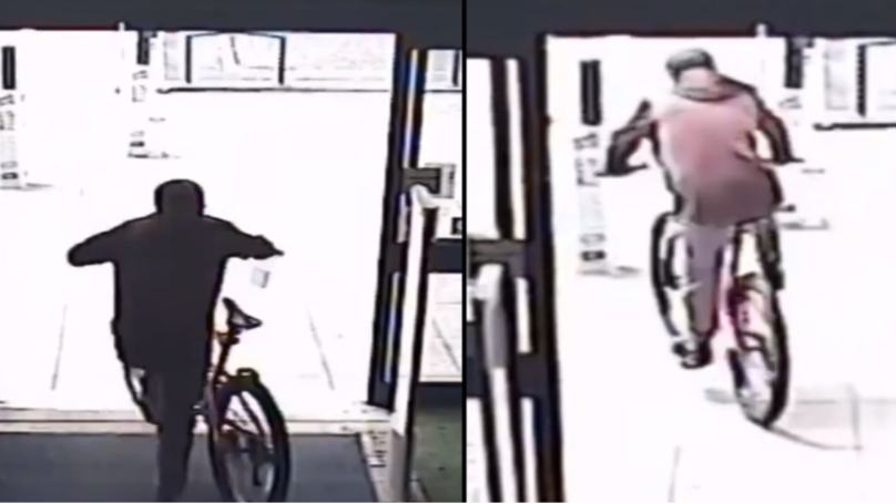 Bike Thief Submits Entry For Being P***-Ripped For The Rest Of His Life