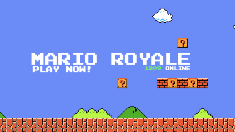 There's a 'Super Mario Bros.' Battle Royale Available Online Right Now