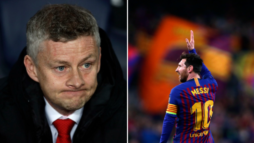 Barcelona Beat Manchester United To Reach Champions League Semi-Final