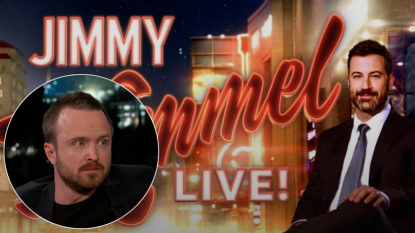 'Breaking Bad' Is A Decade Old And Aaron Paul Went On 'Jimmy Kimmel Live!' To Celebrate