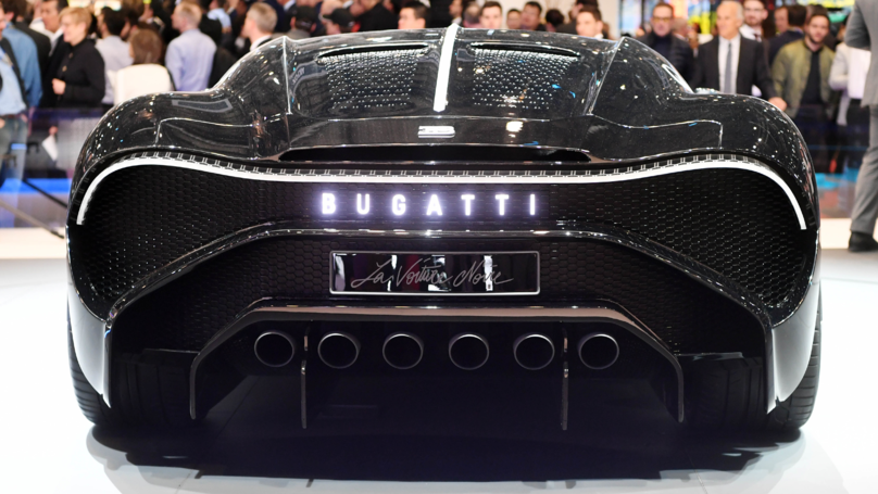 Cristiano Ronaldo Has Bought The World's Most Expensive Car - A £9.5m Bugatti