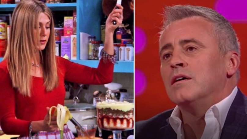 WATCH: Matt LeBlanc Just Made Rachel Green's Meat Trifle A Whole Lot More Disgusting