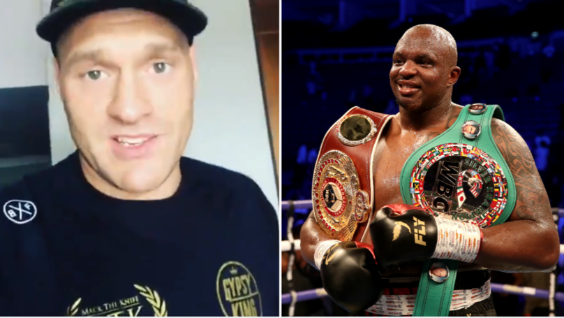Tyson Fury Accepts Dillian Whyte Challenge For WBC 'Diamond' Belt