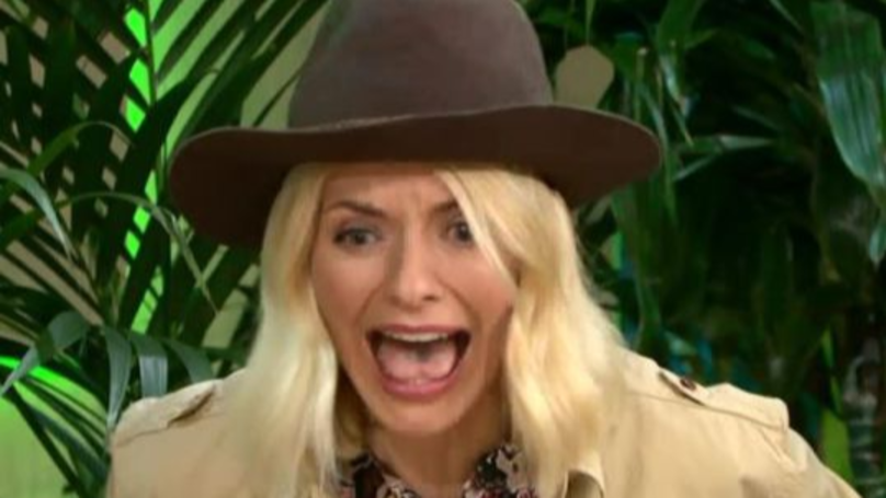 Holly Willoughby Did A Bushtucker Trial Live On This Morning
