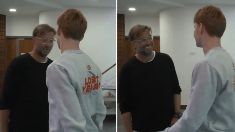 Jurgen Klopp Shocked After Meeting New Liverpool Signing Sepp van den Berg For The First Time